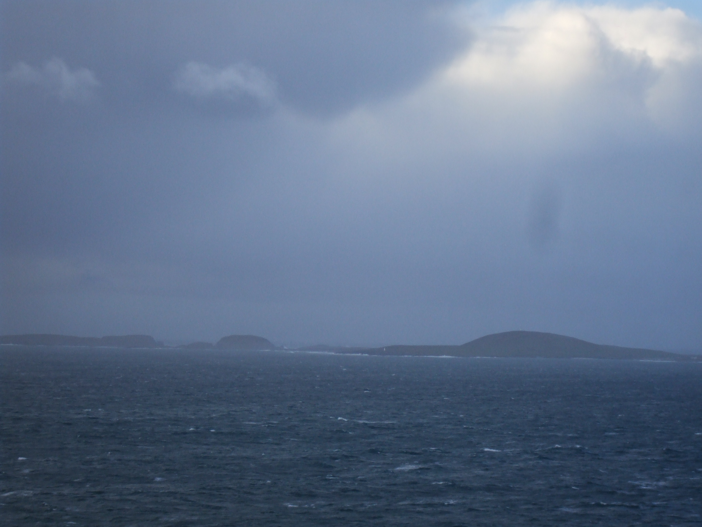 Wild weather, Iniskea Islands, Mayo