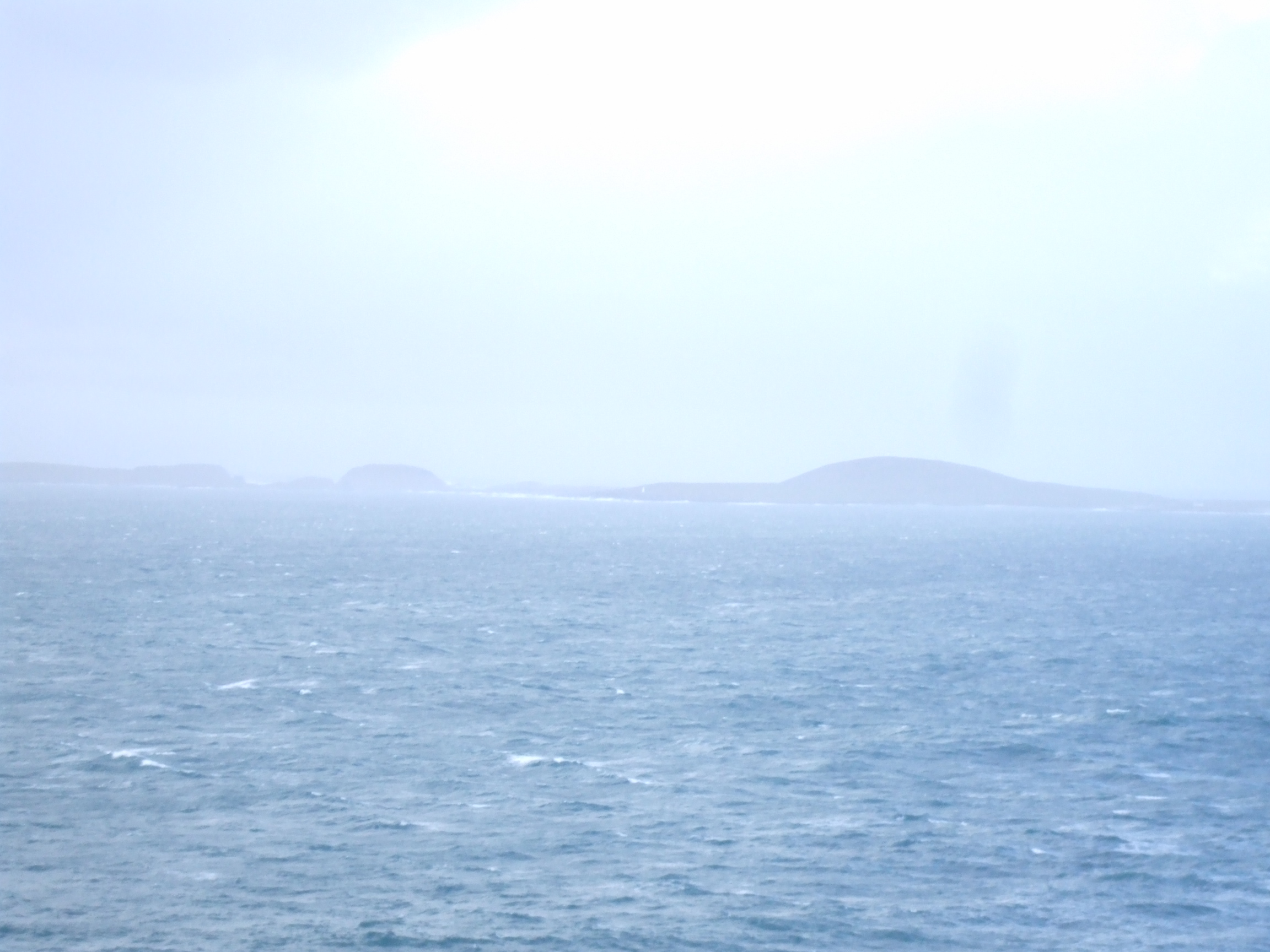 Distant Iniskea Islands, from The Mullet.