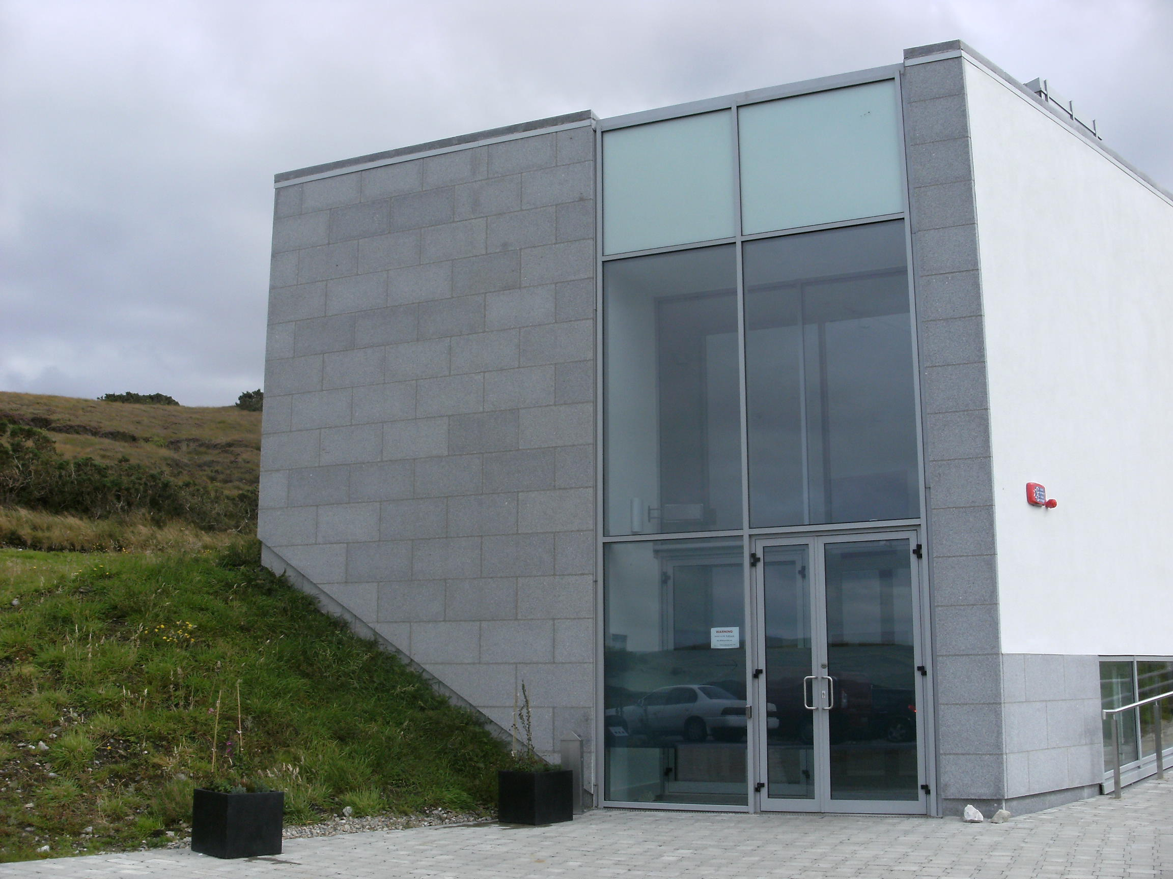 Visitor Centre, Ballycroy National Park.
