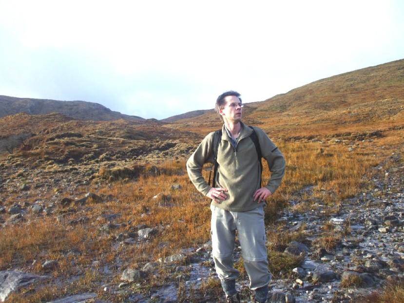Bangor Trail remote hiking trail