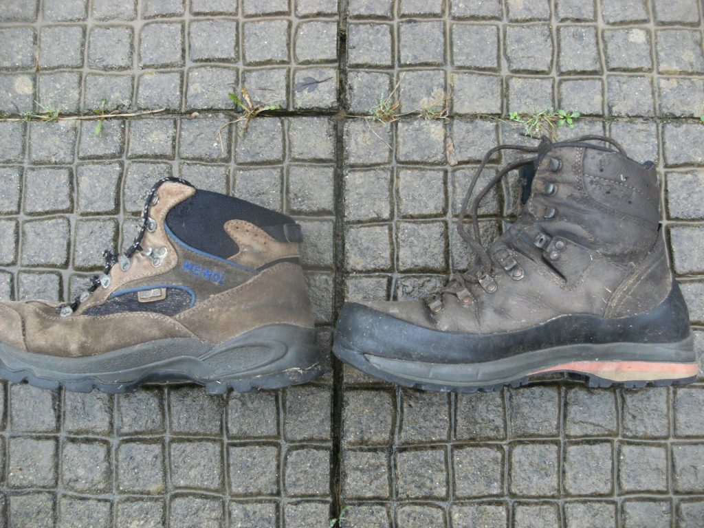 Hiking boots - ankle height