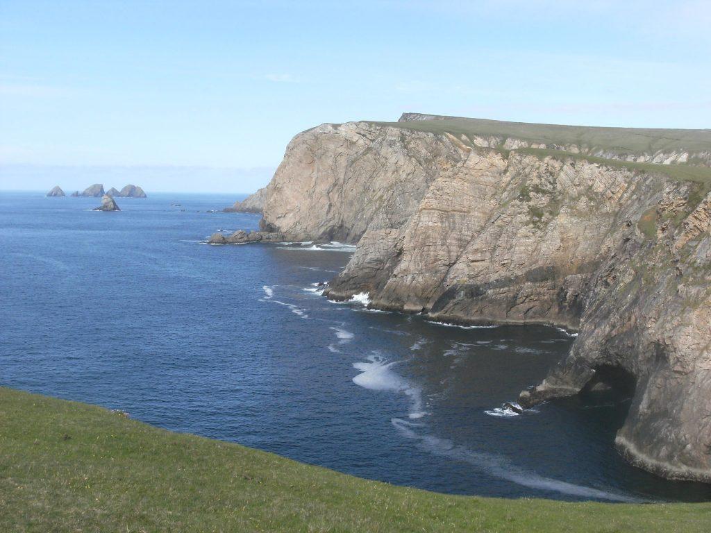 coastline of county mayo benwee head