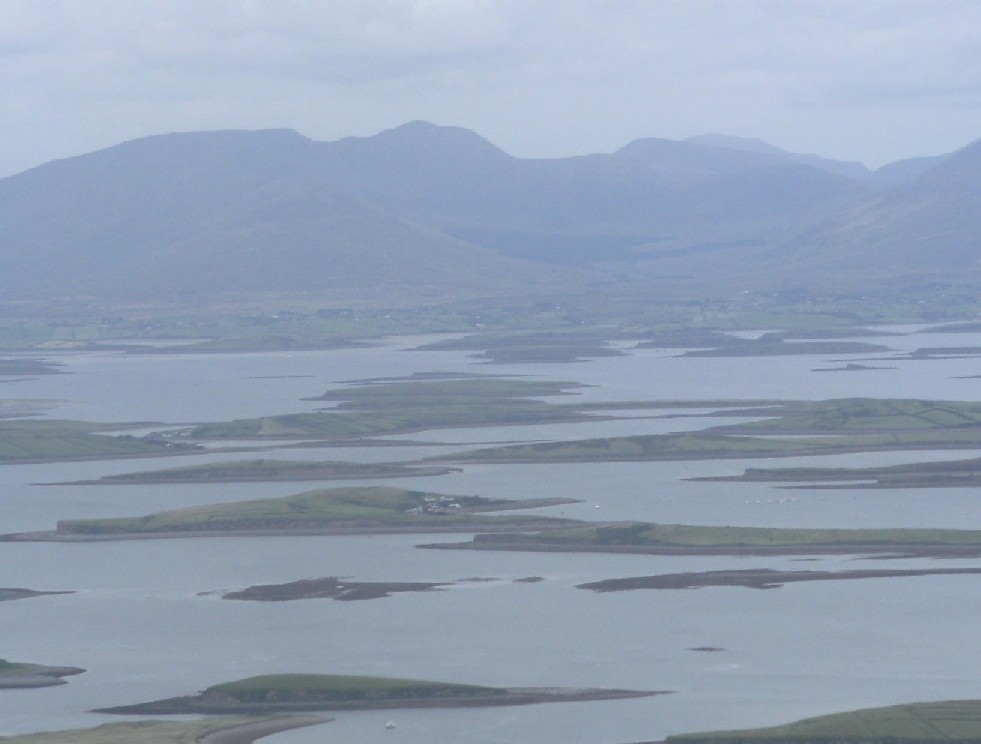 Guided walking holidays in Clew Bay and Nephin Beg mountains, Mayo