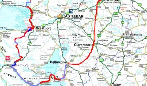 Walking & Cycling in Mayo, West of Ireland