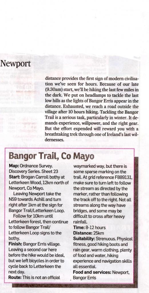 The Bangor Trail Ireland