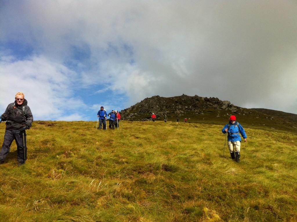 Hillwalking Achill Mayo Ireland