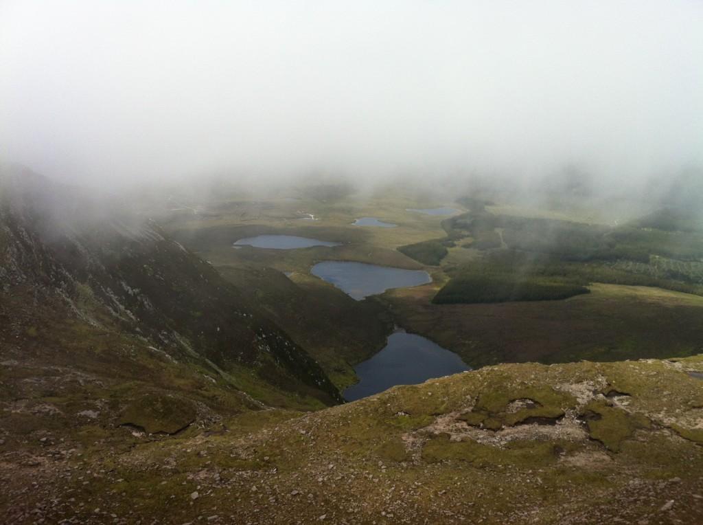 Corraun Mayo lakes