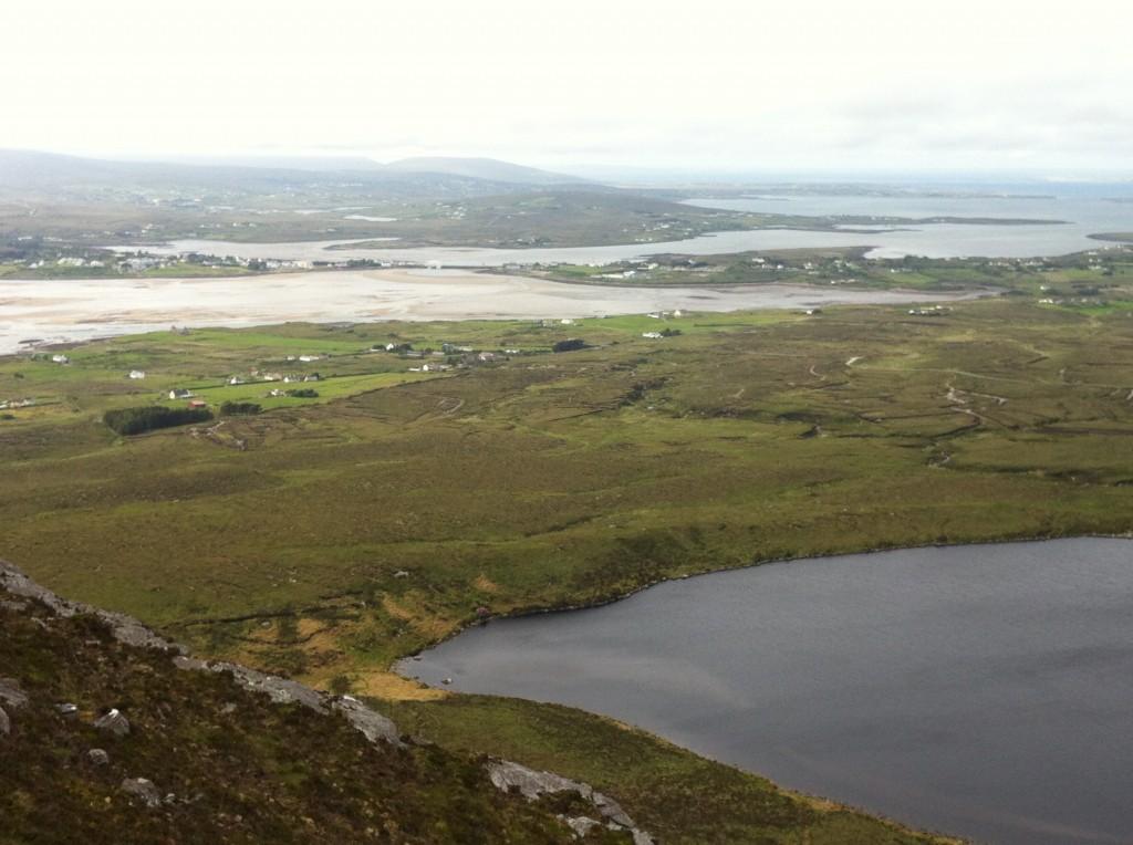 Hiking Corraun Ireland