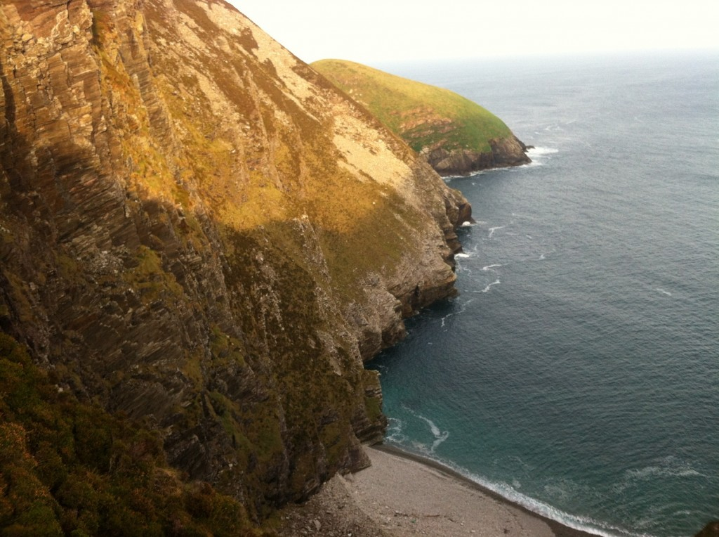 North Mayo Cliffs cove