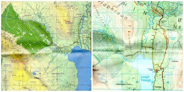 wild nephin map