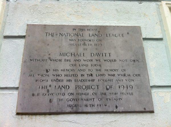 Daly's Hotel Castlebar memorial