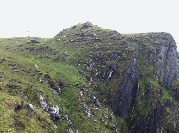 Achill Island Promontory Fort side view