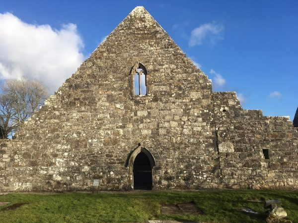 Urlaur Priory west gable