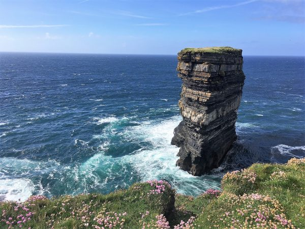 day out in north mayo dun briste downpatrick head