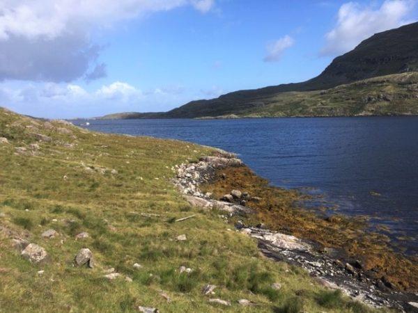 Killary famine walk at Rosroe