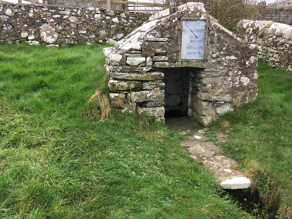 Ancient Church at Kilcummin - Holy Well