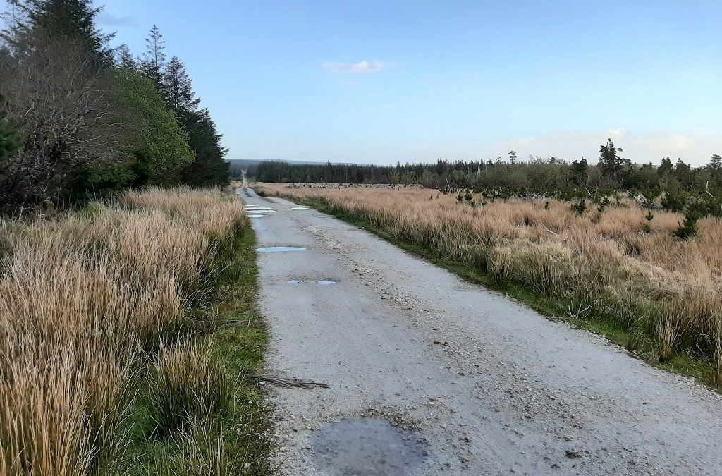Ballymunnelly Bridge to Ballycastle Loop, a Hike and Bike